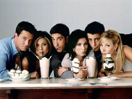 Matthew Perry, Jennifer Anistonová, David Schwimmer, Courteney Coxová, Matt...