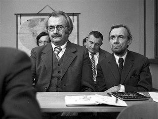 """Jiří Sovák, Zdeněk Srstka a Josef Kemr ve filmu """"Marečku, podejte mi pero!"""