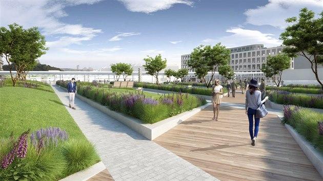 Rekonstrukce má za cíl také vybudovat park s zlepšit prostupnost centrální části Prahy.