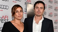 Summer Phoenixová a Casey Affleck (Hollywood, 9. listopadu 2013)