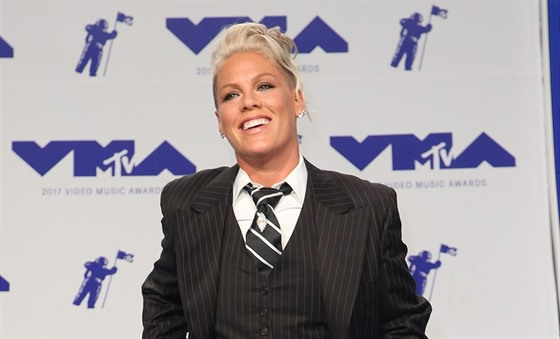 Zpěvačka Pink na MTV Video Music Awards (Inglewood, 27. srpna 2017)