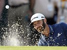 Dustin Johnson na turnaji Northern Trust v New Yorku.