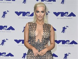 Zpěvačka Bebe Rexha na MTV Video Music Awards (Inglewood, 27. srpna 2017)