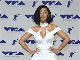 Rapperka Cardi B na MTV Video Music Awards (Inglewood, 27. srpna 2017)