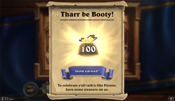 Hearthstone - Pirate Day