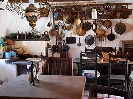 Obecní muzeum a notariát v obci Necpaly jsou plné historických předmětů a...