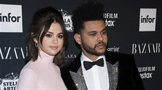 Selena Gomezová a Abel Tesfaye alias The Weeknd (New York, 8. září 2017)