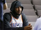 Carmelo Anthony v dresu Oklahoma City