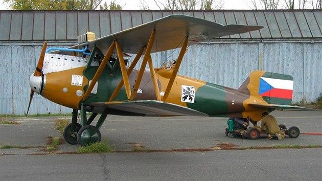 Tento Šmolík Š.2 je exponátem Leteckého muzea Kbely. 570db385a40
