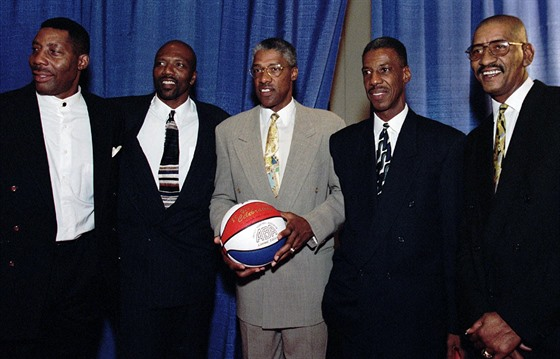 Connie Hawkins, Marvin Barnes, Julius Erving, Charlie Scott a George Gervin...
