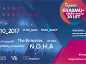 Program Erasmus slaví 30 let.