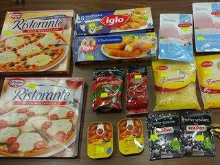 Test dvojí kvality potravin, které provedlo slovenské ministerstvo zemědělství.
