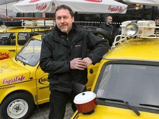 Dan Přibáň a žluté trabanty vystoupí také na Dobešce.