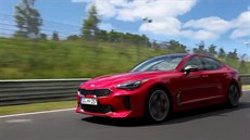 Racing the Nurburgring Stinger Kia