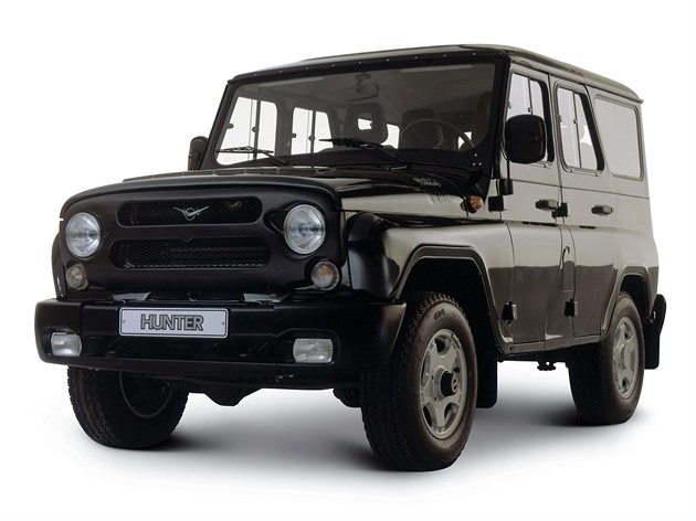 uaz 469 hunter v mexiku. Black Bedroom Furniture Sets. Home Design Ideas
