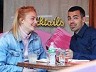 Sophie Turnerová a Joe Jonas (New York, 4. května 2017)