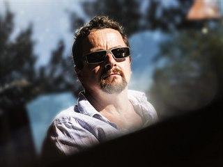Spisovatel Michal Viewegh v pořadu Za scénou