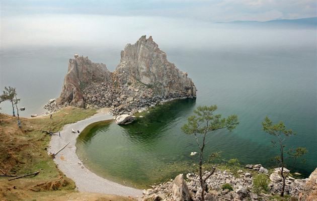 Ostrov Olchon, jezero Bajkal