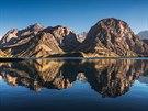 Fanské hory jsou nejnavštěvovanější částí celého Tádžikistánu.