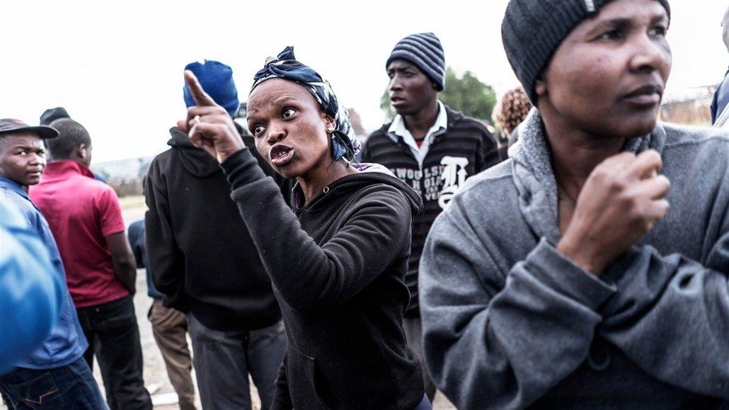 randí s bílým mužem v jižní africe psychóza datování