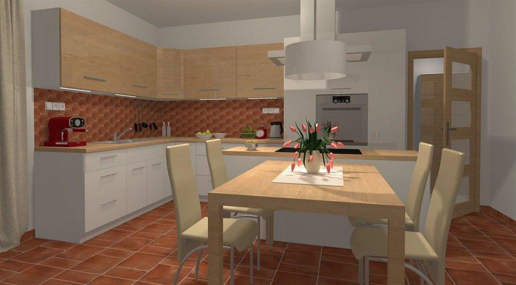 66b82dadf498 Podlaha a obklady změní celý styl kuchyně. Podívejte se na příklady ...
