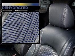 Inovativní povlak na sedadle a volantu instalovaný do vozu Nissan Juke upozorní...