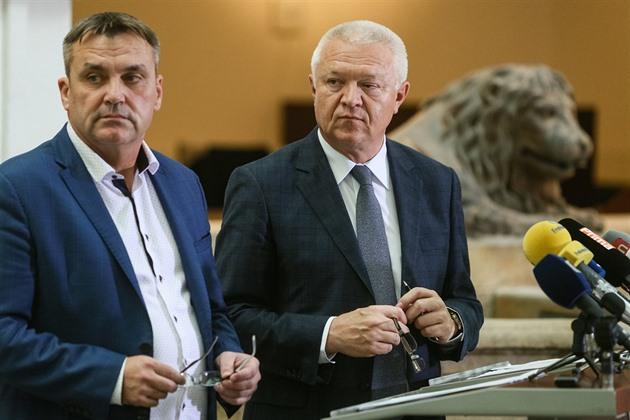 Faltýnek lituje odchodu Vokřála z ANO. Do hnutí ho totiž právě on přivedl