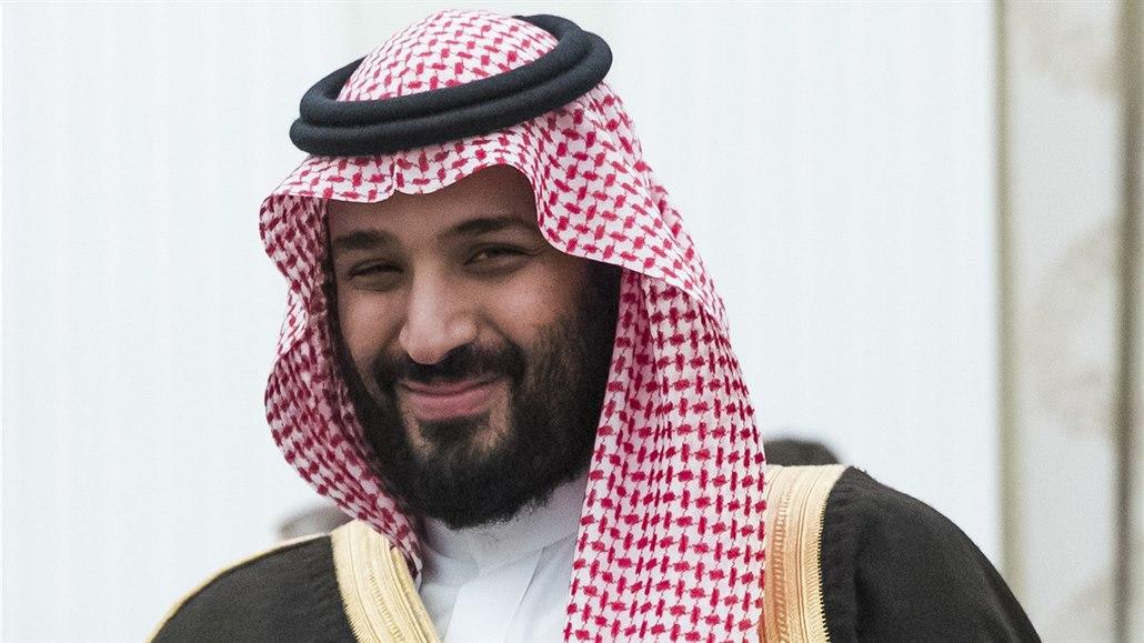 Saúdský korunní princ Muhammad bin Salmán. (30. května 2017)