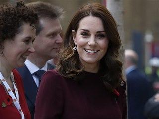 Vévodkyně Kate navštívila Place2Be School Leaders Forum (Londýn, 8. listopadu...