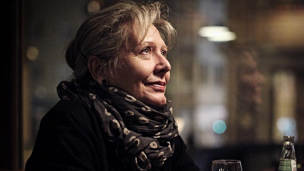 Dokumentaristka Helena Třeštíková při rozhovoru pro ... b4f0cc5921