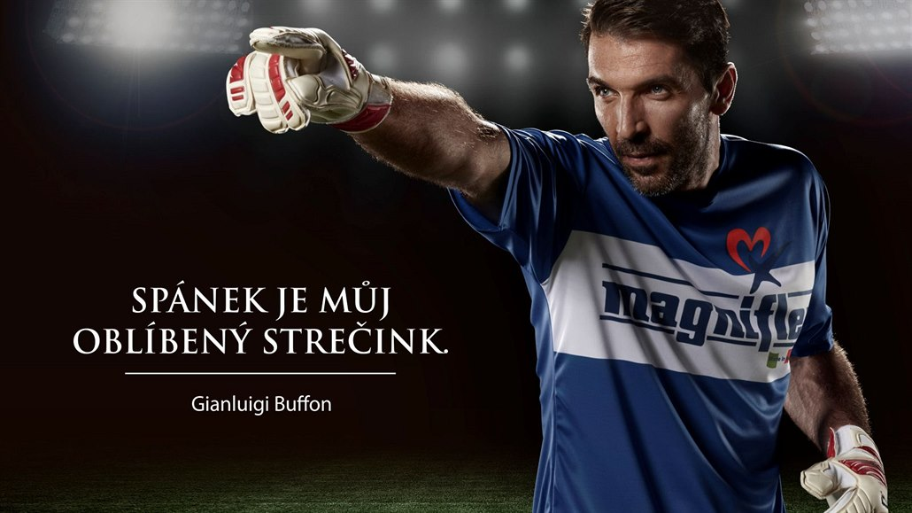 Na matracích Magnistretch spí i Gigi Buffon.