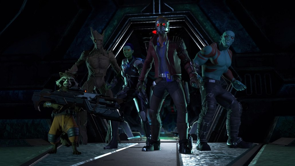 Marvel's Guardians of the Galaxy: The Telltale Series.