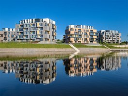 Dock River Watch 2, Praha 8; developer: Crestyl real estate; architekt: Ian...