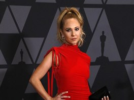 Juno Temple na Governors Awards (Los Angeles, 11. listopadu 2017)