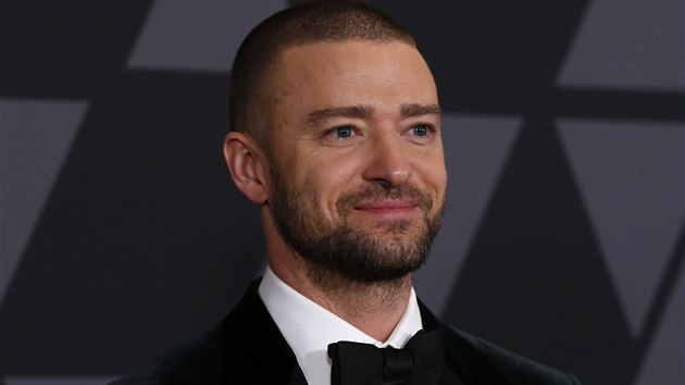 Justin Timberlake na Governors Awards (Los Angeles, 11. listopadu 2017)