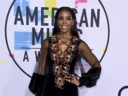 Kelly Rowlandová na American Music Awards (Los Angeles, 19. listopadu 2017)