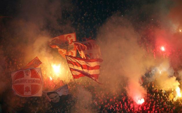 Crvená zvezda Bělehrad v sobotu v posledním duelu sezony zdolala