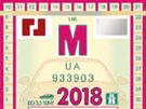 Nová dálniční známka pro rok 2018