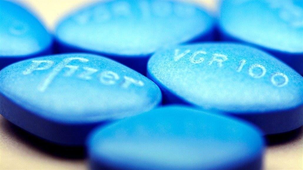 modrá pilulka mění barvu výrobci viagry končí patent v usa a