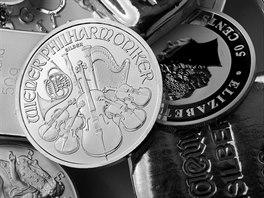 Příznivá cena stříbra vloni povzbudila zájem dlouhodobých investorů....