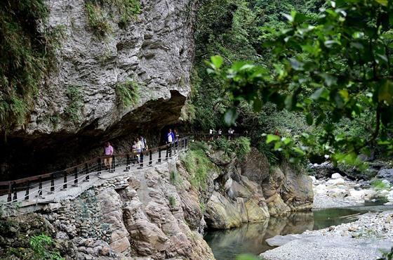 Národní park Taroko je považován za jeden ze sedmi zázraků Asie.