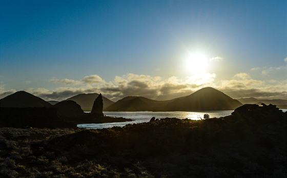 Podvečerní výhled na ostrově Bartolomé