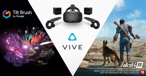 HTC Vive - bundle