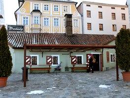 Malá hospůdka vněmeckém Řezně vznikla při výstavbě slavného Kamenného mostu...
