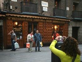 Nejstarší restaurací světa je podle Guinnessovy knihy rekordů Sobrino de Botin...