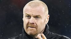 Trenér fotbalistů Burnley Sean Dyche.