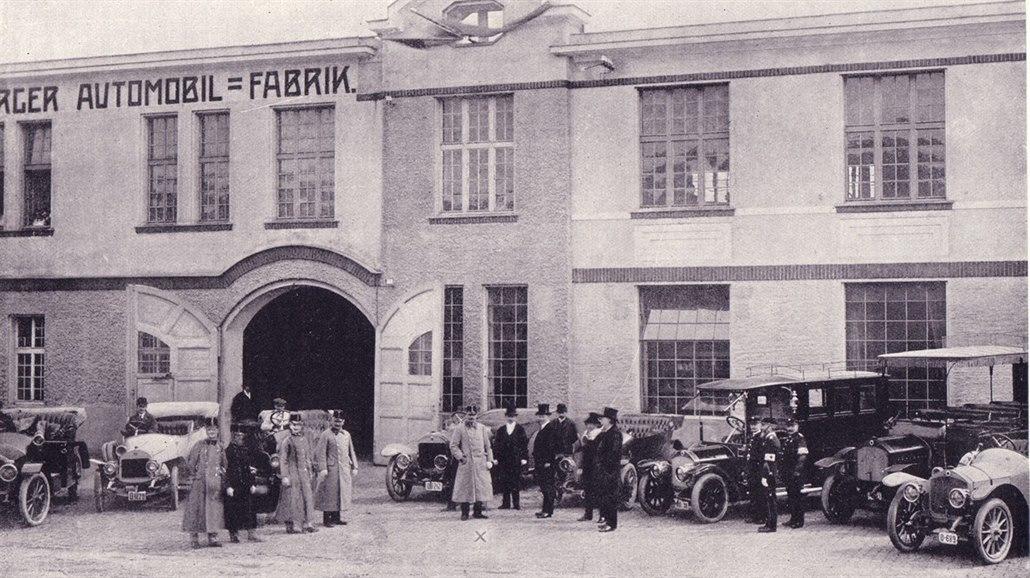 Vozy R. A. F. se vyráběly pro lidi, kteří byli poměrně bohatí – šlechta,...