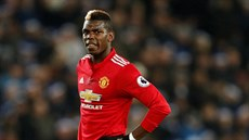 Paul Pogba z Manchesteru United.