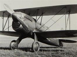 Prototyp stíhačky Praga E.45