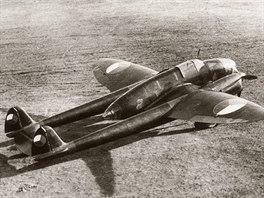 Prototyp průzkumného letounu Praga E.51